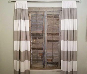 Reclaimed Wood Shutters Product In Houston