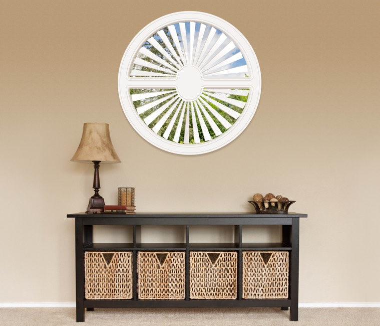 Circular Shutters in Houston, TX