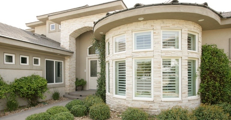 Houston bay window shutter exterior