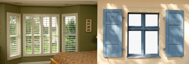 Houston TX interior and exterior shutters