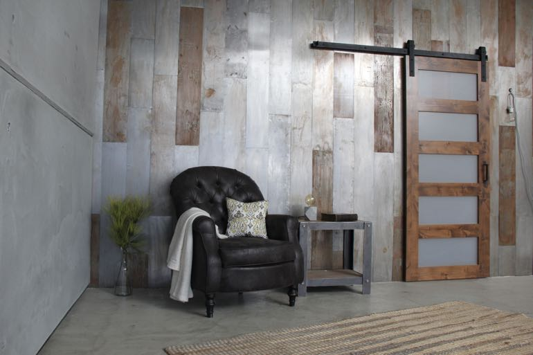 Houston commercial barn door