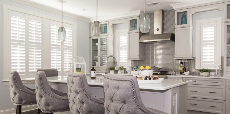 Houston kitchen shutters