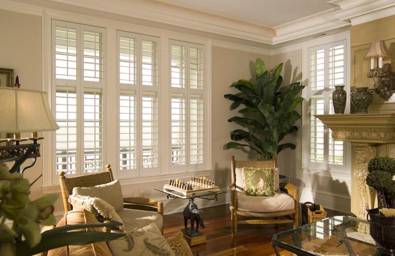 Houston Living Room Window Treatments