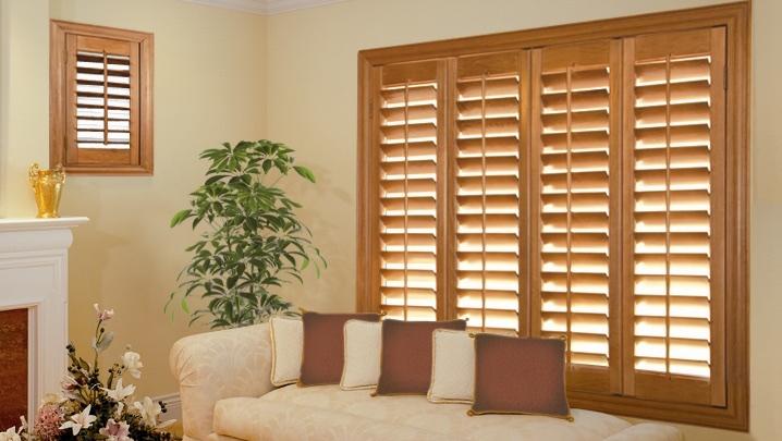 Wood Shutters Houston Sunroom