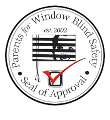 Seal of Approval by Parents for Window Blind Safety in Houston