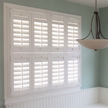 Houston Studio Plantation Shutters