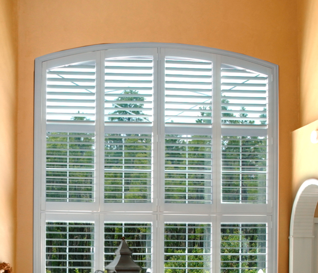 Arched Window Shutters In Houston, TX