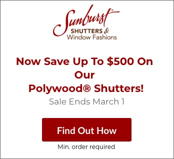 Sale on Houston Polywood Shutters