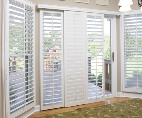 TX patio door shutters