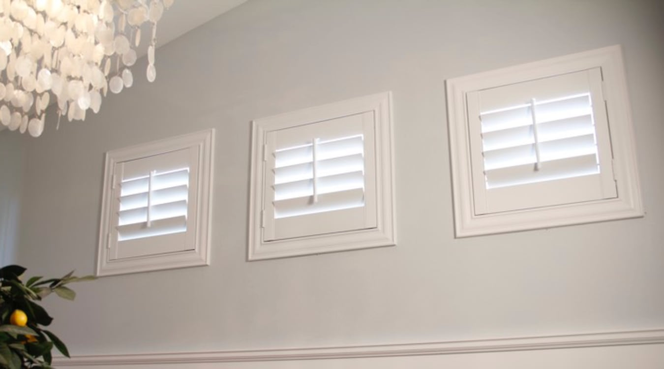 Houston small window shutters