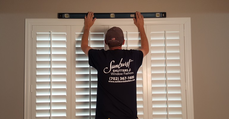 Houston interior shutter measurement
