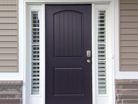 Houston front door shutters