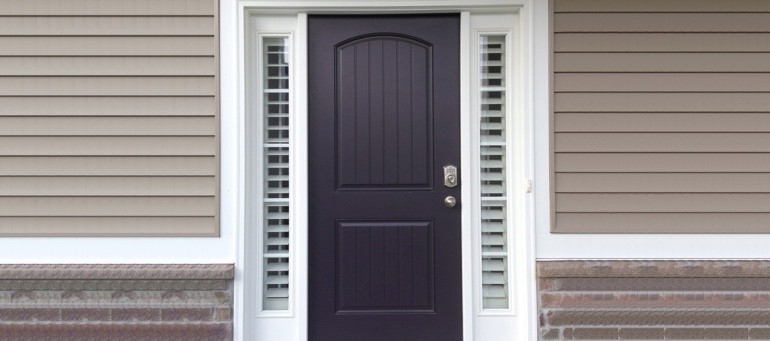 Entry Door Sidelight Shutters In Houston, TX