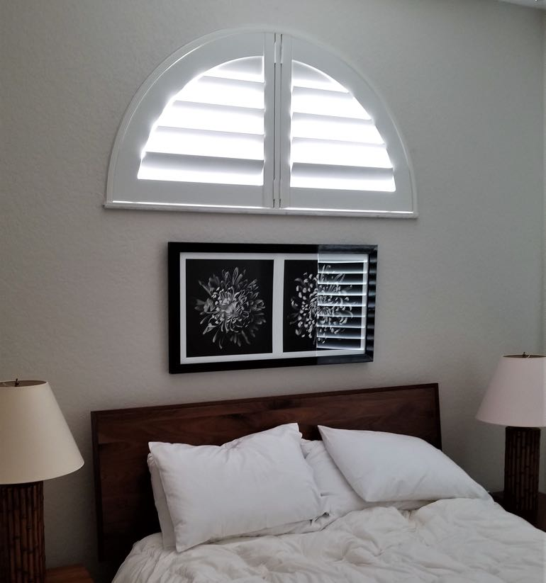Houston arch small shutters